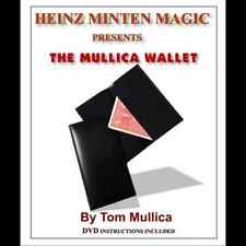 Mullica Wallet (with DVD) by Heinz Minten & Tom Mullica - Magic Tricks