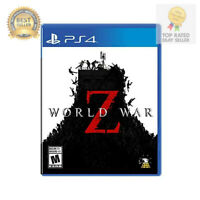 World War Z Sony Playstation 4 PS4 Game Brand New Factory Sealed Zombies