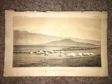 1877 Sketch Plate of Franklin Butte and North End of Cache Valley