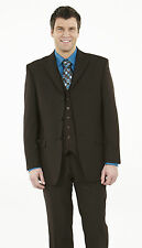 """SIMON JERSEY BROWN MJ0690 TAILORED JACKET 34"""" 46"""" WOOL MIX SUIT JACKET ONLY"""