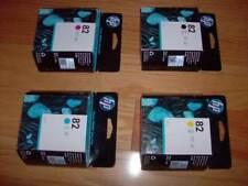 GENUINE SET 4 HP #82 CARTRIDGES DESIGNJET 510 C4911A-C4913A CH565A FACTORY SEALE