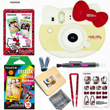 Fujifilm Instax Mini 8 Instant Camera Hello Kitty (RED) LIMITED EDITION BUNDLE