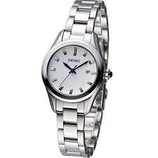 Seiko Silver Strap Round Wristwatches