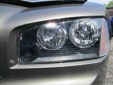 08 09 10 DODGE CHARGER Left Driver Side Headlight halogen OEM
