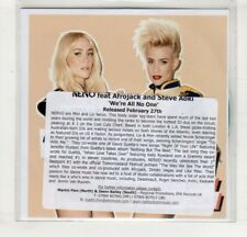 (HM507) Nervo, We're All No One ft Afrojack & Steve Aoki - DJ CD