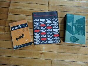Lot of Books Transistor Fundamentals and Applications Manual + Radio Transistors