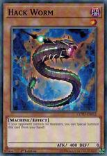3x YuGiOh COTD-EN012 Hack Worm Common Unlimited Card