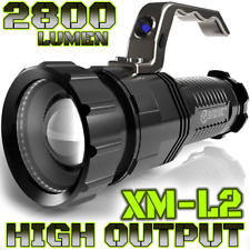 2,800 LUMEN | HIGH OUTPUT | RECHARGEABLE | ZOOMABLE Floodlight to Spotlight