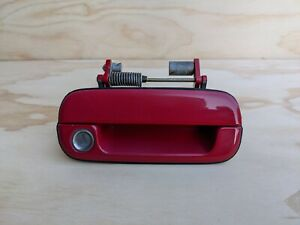 🔥1991-1995 ACURA LEGEND COUPE PASSENGER EXTERIOR DOOR HANDLE RED OEM DH34