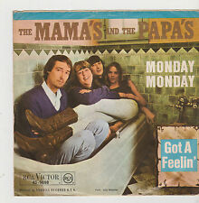 "7"" THE MAMA`S AND THE PAPA`S Monday Monday RCA Victor 45-9698 Got A Feelin`"