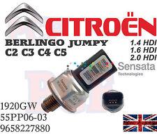 ORIGINALE CARBURANTE PRESSIONE SENSORE CITROEN C2 C3 C4 C5 BERLINGO