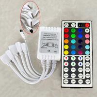 12V 6A 44Key IR Remote Controller For 3528 5050 RGB SMD Light Strip Five outputs
