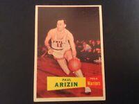 1957 Topps Basketball Paul Arizin #10 Philadelphia Warriors RC HOF