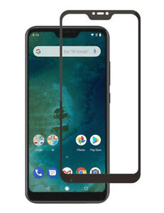 For Xiaomi Mi A2 Lite Tempered Full Covered Glass Screen Protector Cover