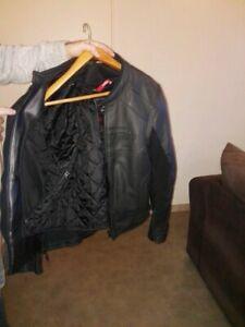 Blouson moto cuir homme toutes saisons furygan taille XL