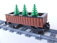 * Holiday Christmas * Tree Train Built w/ New Lego Bricks fits 9 Volt RC IR Sets