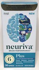 NEURIVA PLUS Brain Performance Health  30 caps Exp2021+ 5500