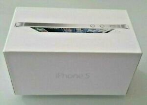 Apple iPhone 5 box and packaging in good condition for mobile gift pranks