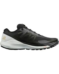 SALOMON Men's Sense Ride  Running Shoes  Black/White/Black