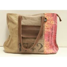 Canvas and Leather Unisex Photoshop Tote Bag