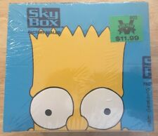 The Simpsons 1994 Skybox Series 2 Trading Cards Box Sealed
