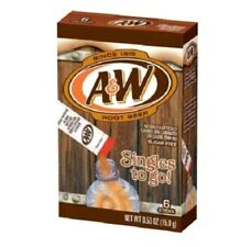 2X A&W Root Beer Singles to Go Sugar Free Drink Mix
