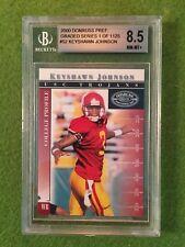 KEYSHAWN JOHNSON JERSEY #3 JETS USC BGS 8.5 NM-MT+ /1125 Football Preferred 2000