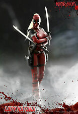 1/6 Toys Era Lady Katana Deadpool CT011 Marvel Comics X-Men Wade Not HOT TOYS