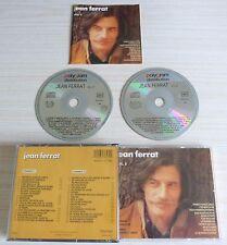 RARE BOX 2 CD ALBUM BEST VOL 2 VERSIONS ORIGINALES JEAN FERRAT 35 TITRES 1990