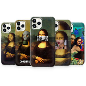 Abstract Mona Lisa Phone Cases Aesthetic Art Renesance Covers fit iPhone 13, 12