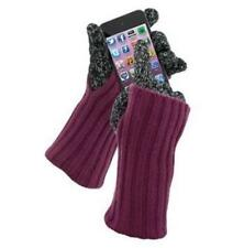 WARMTOUCH BY GRANDOE CASHMERE & LAMBSWOOL KNIT TOUCHSCREEN GLOVES for iPHONE +