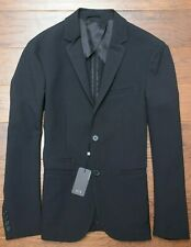 Armani Exchange A|X $230 Men's Black Stretch Lightweight Blazer Sport Coat 38