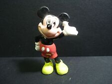 VINTAGE DISNEY MICKEY MOUSE MINIATURE FIGURE ABOUT 2 1/4""