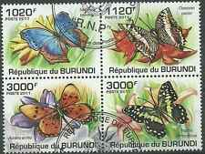 Timbres Papillons Burundi BF159 o année 2011 lot 5748 - cote : 18 €
