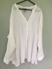 Rayon Machine Washable Button-Down Tops for Women