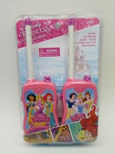 Disney Princess Walkie Talkies Kids Little Girls Toy Interactive Gift