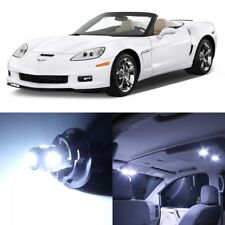 13 x Xenon White Interior LED Lights Package For 2005- 2013 Chevy Corvette +TOOL