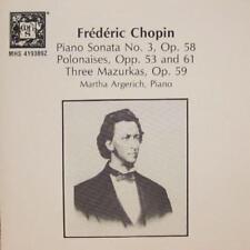 Chopin(CD Album)Piano Sonata No.3-Musical Heritage Society-VG