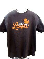 2015 Muck Fest T-Shirt Built For Laughs Large Black