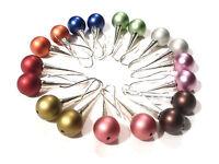 Bijou acier tendance boucles d'oreilles perles pendantes earrings