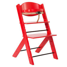 Chaise Evolutive Highchair Red [1007] Treppy