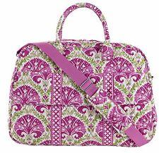 "Vera Bradley Beautiful ""Julip Tulip"" Grand Traveler Travel Bag NWT Expedited S/H"