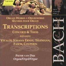 BACH: TRANSCRIPTIONS OF CONCERTI & TRIOS USED - VERY GOOD CD