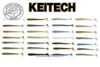KEITECH 3.5 Swing Impact Swimbait Paddle Tail 3.5 inch 8pk JDM NEW COLORS - Pick
