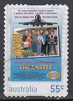 Australien Briefmarke gestempelt 55c The Castle / 36