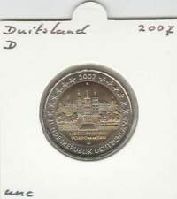 Duitsland 2 euro 2007 letter D UNC : Mecklenburg