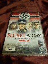 Secret Army Series 1 DVD 4-Disc Set BRAND NEW! Ships super fast!