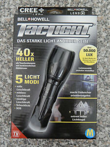 Taschenlampe Tac Light Robuste & ultrastarke Taschenlampe extrem Hell mit Zoom