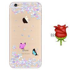 iPhone SE/5s/5 Cover Hülle Case Bumper Silikon TPU Schutzhülle Motiv 2  Aus🇩🇪