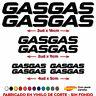 7 X PEGATINAS STICKER VINILO GASGAS MOTO VINYL AUFKLEBER AUTOCOLLANT GAS GAS